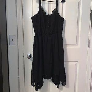 Torrid Black Bustier Dress